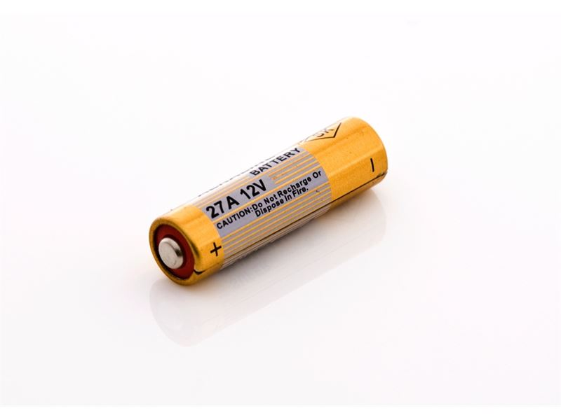 12V BATTERY 27A: KEY FOB BATTERIES 1