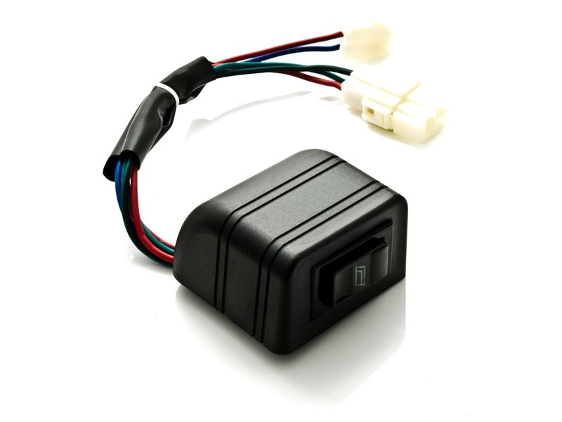 UNIVERSAL POWER WINDOW KIT SWITCH SINGLE
