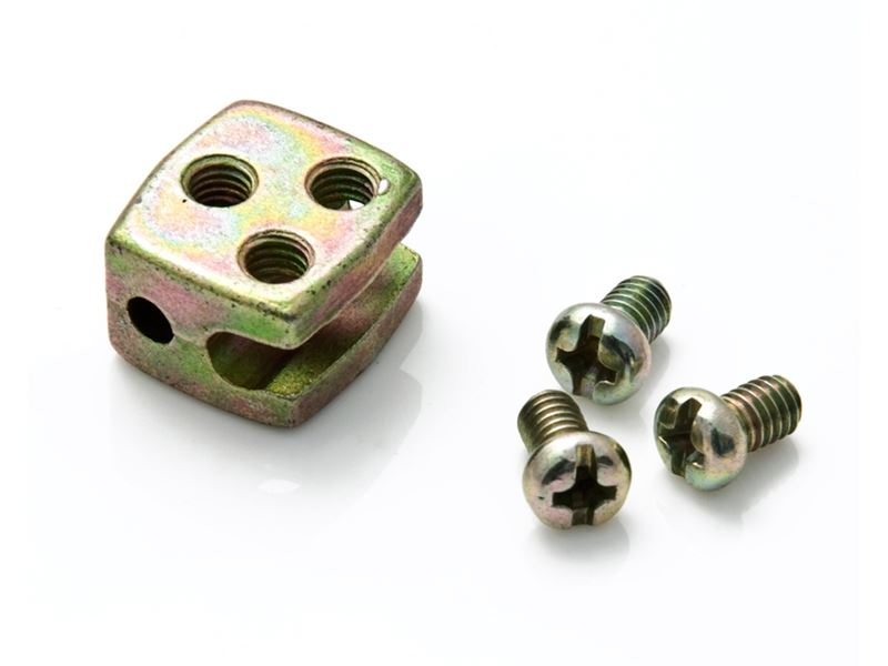 2 WIRE CENRAL LOCK MOTOR NUTS & BOLT