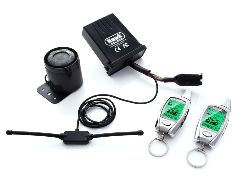 Motorcycle Alarms control box