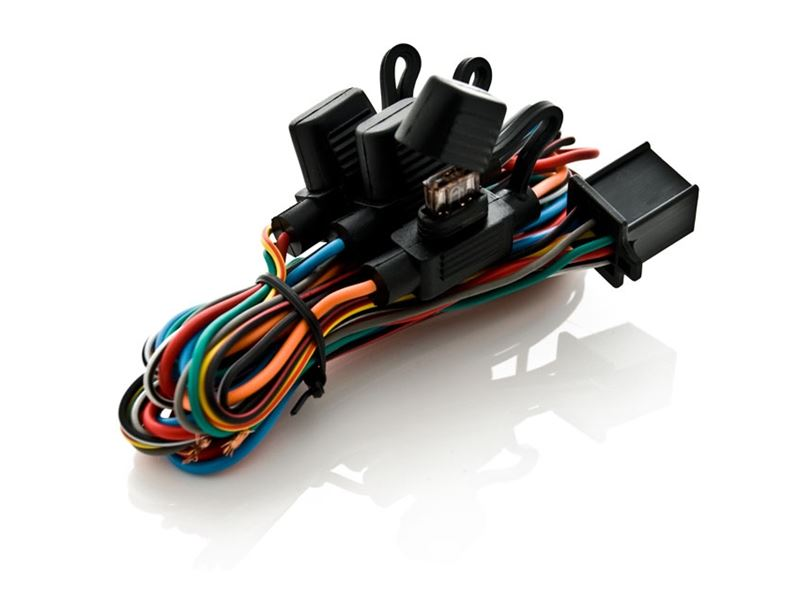 MOTORCYCLE ALARM WIRING HARNESS